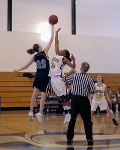 Women's Varsity Basketball, 11/29/08