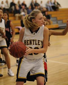 Women's Varsity Basketball, 01/17/08