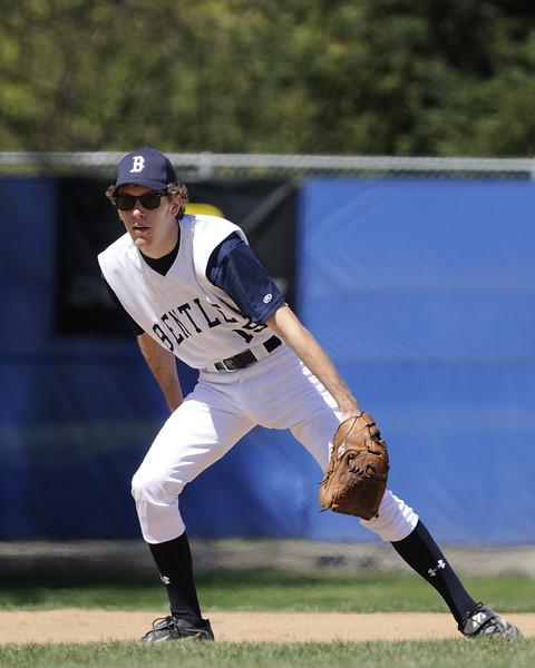 Bentley Faculty/Alumni/Parent Baseball Game vs The 2009 Varsity Baseball Team 04/04/2009