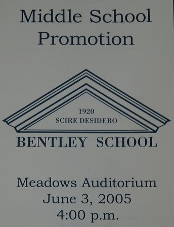 Middle School Promotion