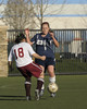 Bentley Women's Varsity Soccer vs Chinese Christian on 03/17/2008