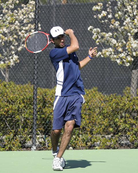 Bentley Men's Tennis