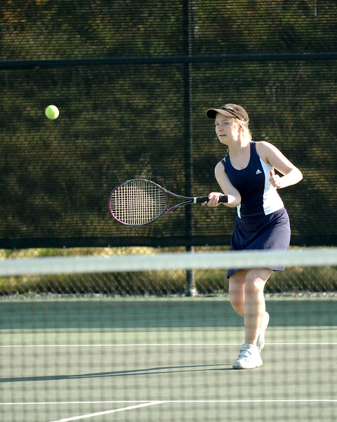 Bentley Women's JV Tennis on 09/29/2006