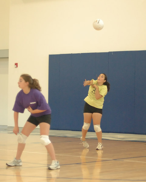 Bentley Women's Junior Varsity Volleyball scrimmage vs. Campolindo's Freshman team