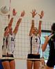 Bentley Women's Varsity Volleyball vs. Bay School on 09/11/2009