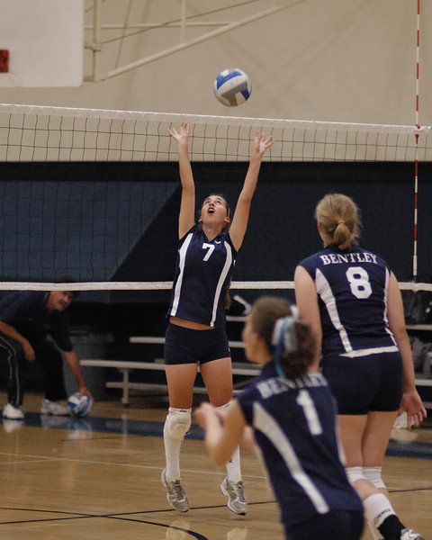 Bentley Women's Varsity Volleyball vs. Chinese Christian on 10/19/2007