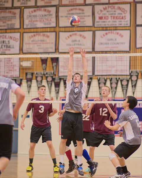 Campolindo Men's Varsity Volleyball vs. Las Lomas 04/17/2014