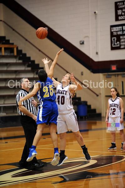 01/23/08 LHS Girls JV Basketball