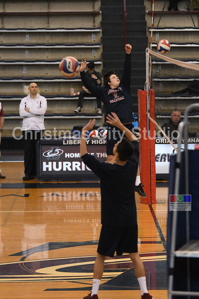 03/29/18 LHS Boys JV Volleyball
