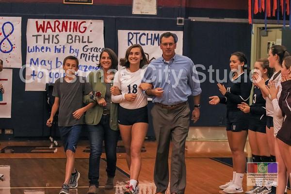 10/09/17 LHS Girls V Volleyball
