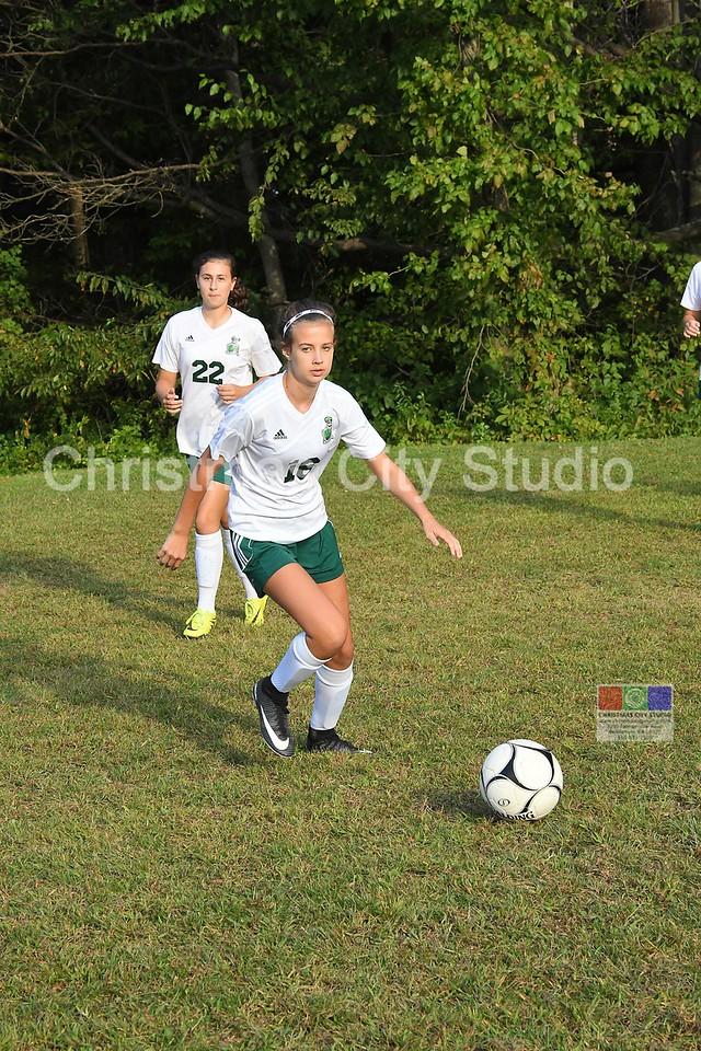 09/14/17 PAHS Girls JV Soccer
