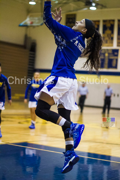 01/11/17 WAHS Girls Varsity Basketball