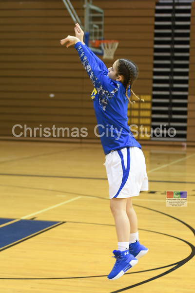 12/19/17 WAHS Girls JV Basketball