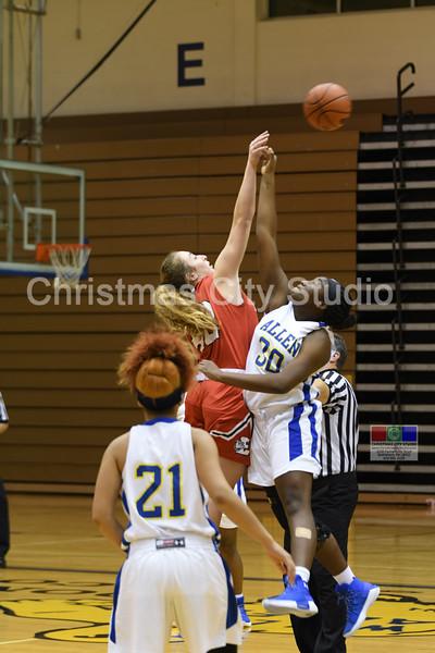 12/19/17 WAHS Girls Varsity Basketball