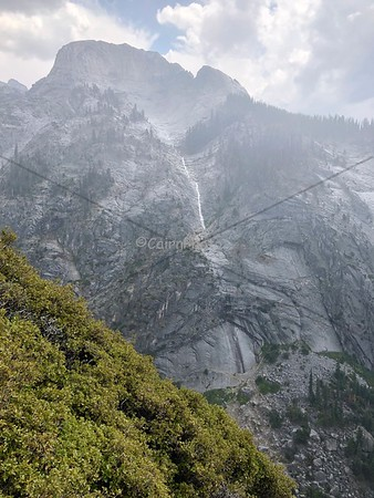 Stormy cascade