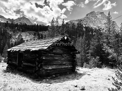 Historic Cabin at Big Arroyo Creek Junction