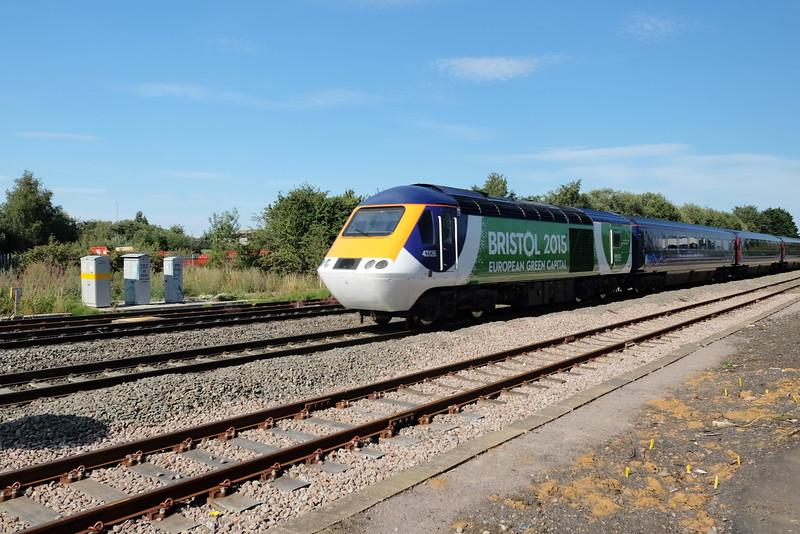 43126 working Padd - Swansea at Highworth Junc.