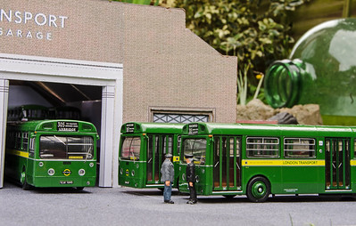 The new order, as three Merlins sit outside the garage. MB104, MB89 and MB97