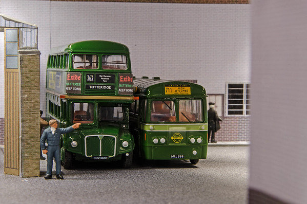 High Wycombe Model Bus Garage - Saturday 11th June 2016