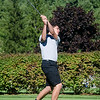 Gardner's Tim Chipman tees off at the Gardner Municipal Golf Course on Thursday evening. SENTINEL & ENTERPRISE/ Ashley Green
