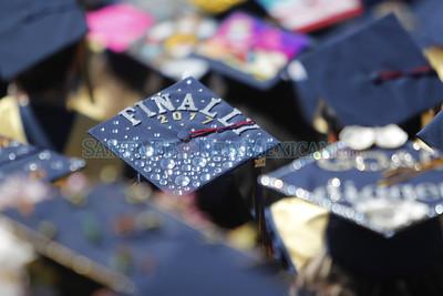 Santa Fe High School graduation on Friday, May 26, 2017. Luis Sánchez Saturno/The New Mexican