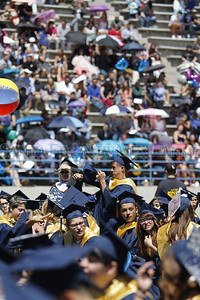 Santa Fe High School graduation on Friday, May 26, 2017. Luis Sánchez Saturno/The New Mexican
