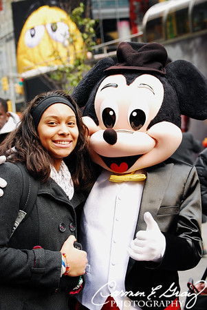 Me and Mickey - New York 2011