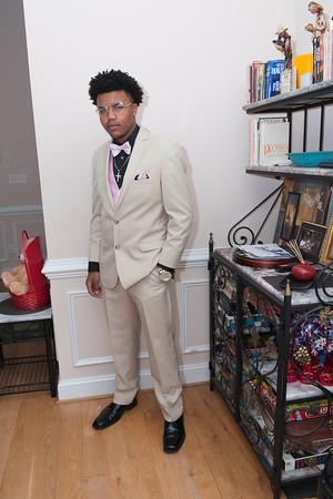 Latrell Johnson Prom 2016