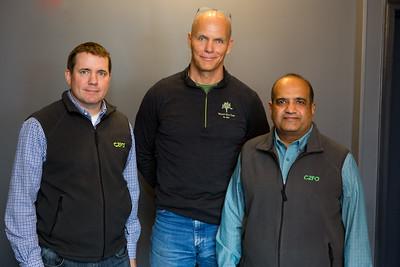 Kevin Daniels, Sandy Kemper, and Sanjay Gupta