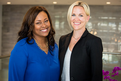 Denise Hamilton and Courtney Wyckoff, CPT, CES