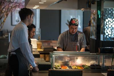 Nara and Chef Donald Chang