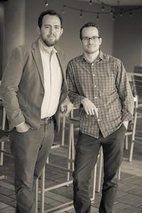 Sam Brisendine and Scott Key