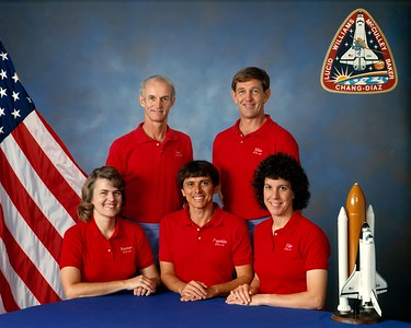 STS-34 launched October 18, 1989. The almost five-day mission using Space Shuttle Atlantis was the 31st shuttle mission overall, and the fifth flight for Atlantis. The Jupiter-bound Galileo probe was deployed into space during the mission.