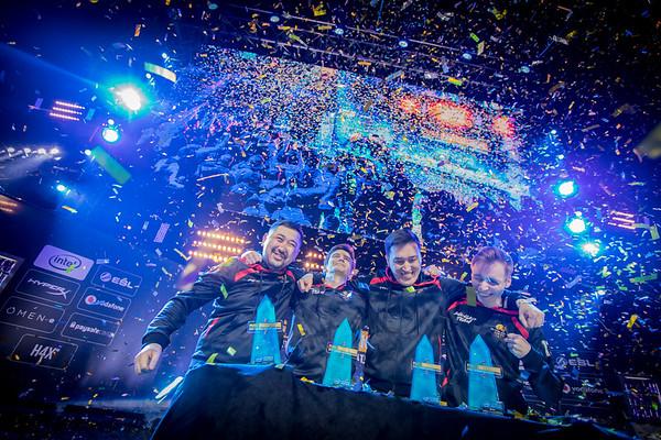 The winners of the 2018 Intel Extreme Masters Katowice PUBG Invitational: AVANGAR
