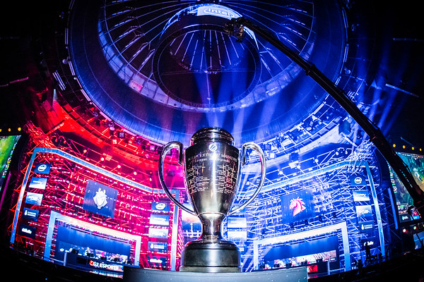 The Intel Extreme Masters World Championships 2017 trophy