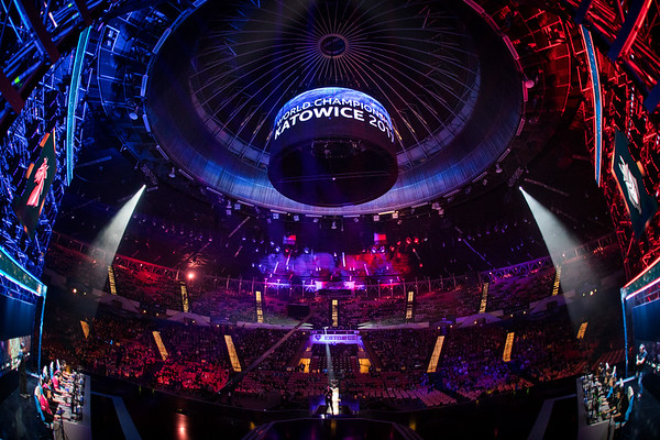 Spodek Arena during Intel Extreme Masters World Championships Katowice 2017