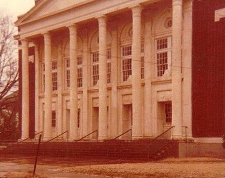 Auditorium of original El Dorado High School