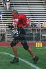Joel Tallman (81 in red) of the Granville Blue Aces - Saturday, July 8, 2000 - South Central Ohio 7th Annual East vs West All Star Football Game held in Lancaster, Ohio