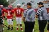 Team Captains and the Coin Toss - Friuday, July 20, 2012 - 31st Annual Muskingum Valley versus Licking County All-Stars played at White Field in Newark, Ohio