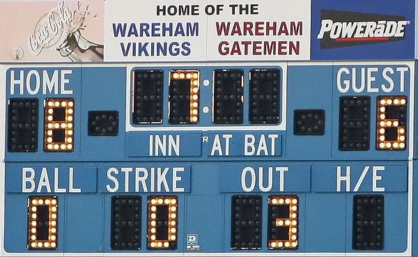 Game #6 Wareham Post 220 vs Rockland