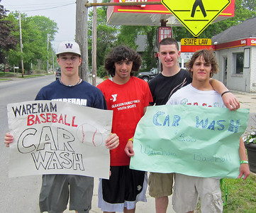 The Great Varsity Baseball Car Wash Saturday  May 28, 2011