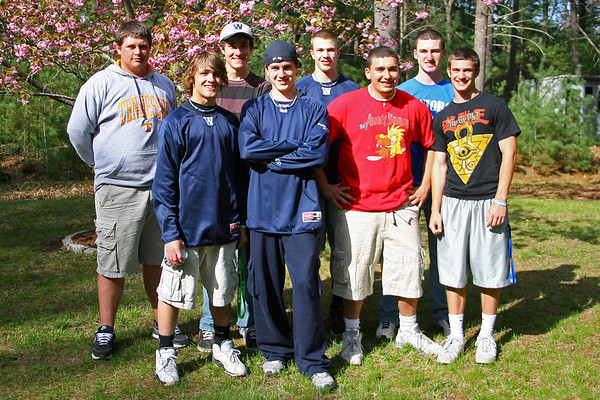 Wareham Varsity Baseball Pre- Game Cookout at Ian's House Friday May 6, 2011