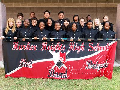 HHHS Red Brigade Band 2011-2012