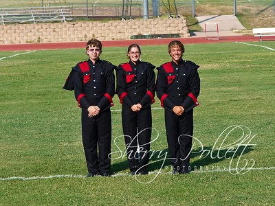HHHS Band Captains:  Tyler Hudson, Brooklyn Connell, Cody Coulter