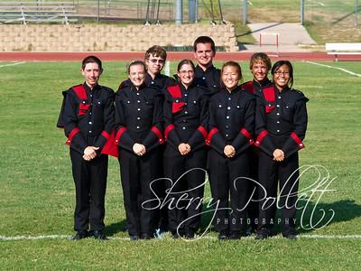 Drum Majors, Captains, President/Vice-President