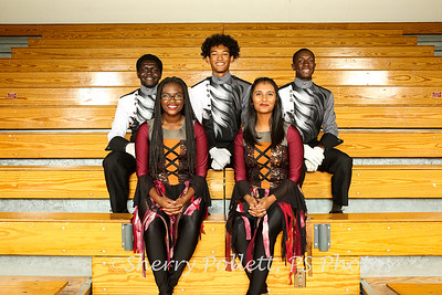 Drum Majors & Avalon Officers 8633-2