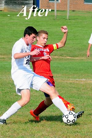 Mid North v Mid South 2014 Boys Soccer