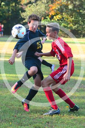 Thompson vs Ocean Middle 2016 Boys Soccer