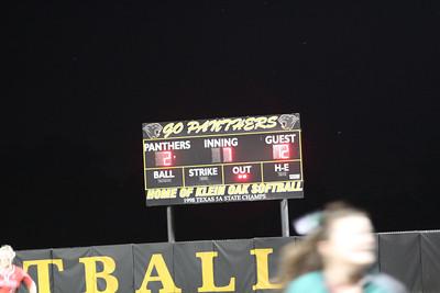 2014-04-24 Playoffs Game 1 TWHS vs Klein Collins  (W 12-2)