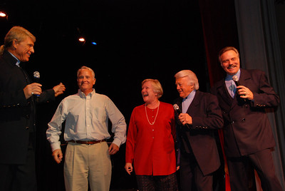 Bonnie and Bill get invited on stage.